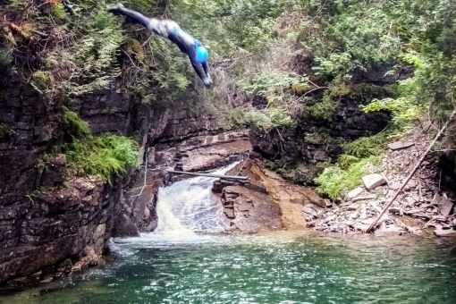 Canyoning de l'Auberge Griffon