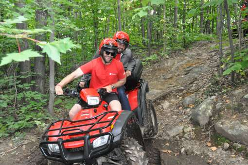 Guided ATV expedition
