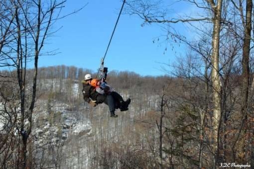 Mega ziplines, via ferrata and rappelling in Mont Tremblant