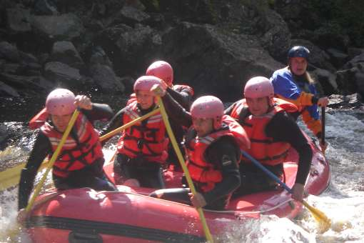 Rafting on the Metabetchouane