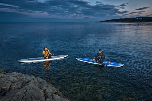 Stand up paddle - SUP à Tadoussac