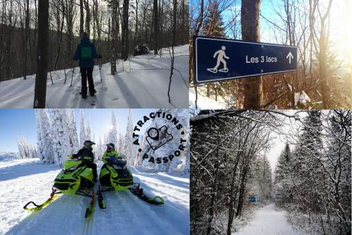 Snowmobile guided tour Charlevoix & extras at -40%
