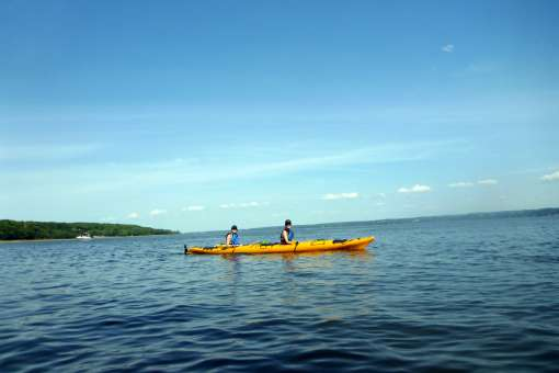 Discovery Orleans Island in sea kayaking