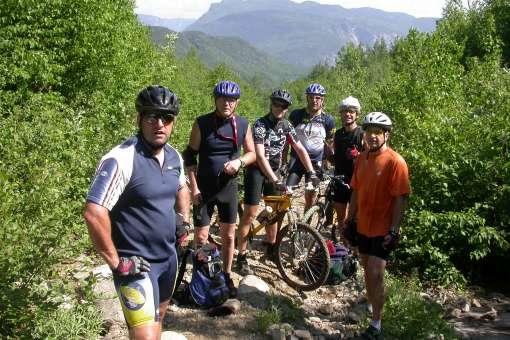 Raid by mountain bike, 2,3 or 4 days