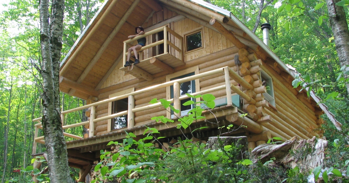 Super Rustic Cabins And Cottages Au Quebec Canada Interior Design Ideas Clesiryabchikinfo