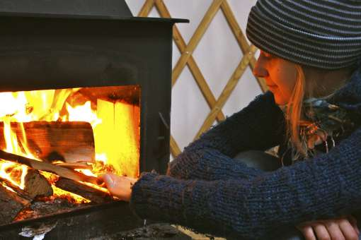 wood fire (c) Philippe Jobin